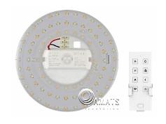 ชุดLEDพร้อมสวิทซ์รีโมทควบคุมแบบเป็นเซ็ต BLY-18S1 สามารถให้ความสว่างได้เปลี่ยนสีได้กินไฟฟ้า18Watt